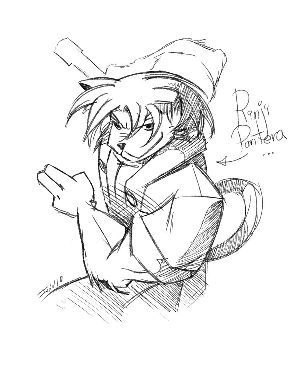 Rinji Pantera - Jonin Class Ninja