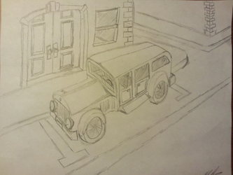 It was supposed to be a car