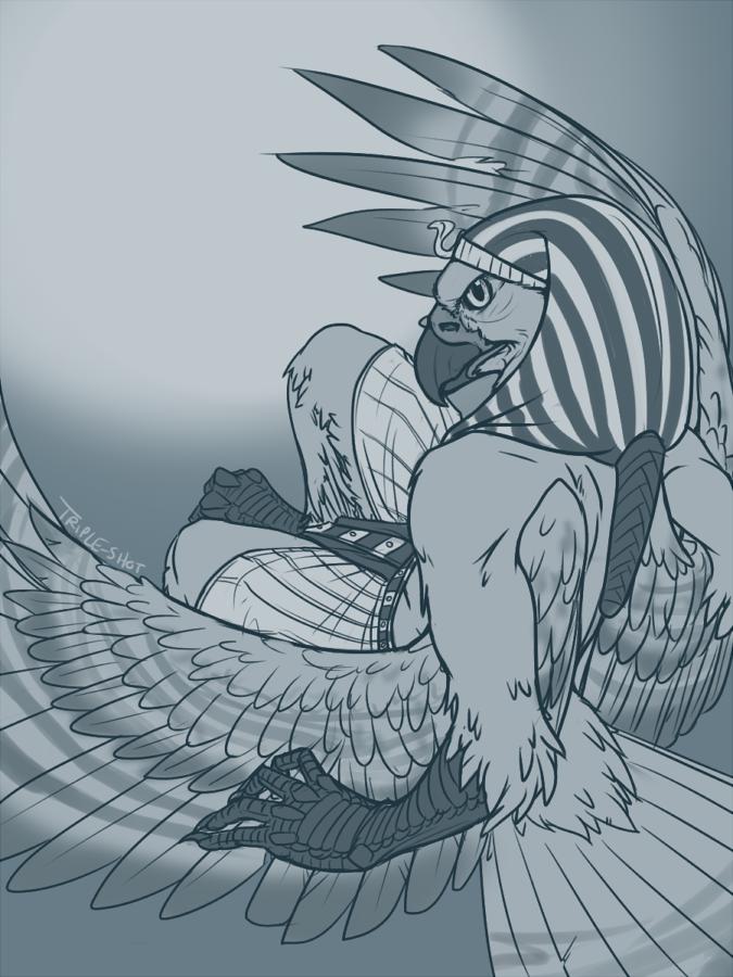 Historical Wing It Sketch - Talu_Lupus