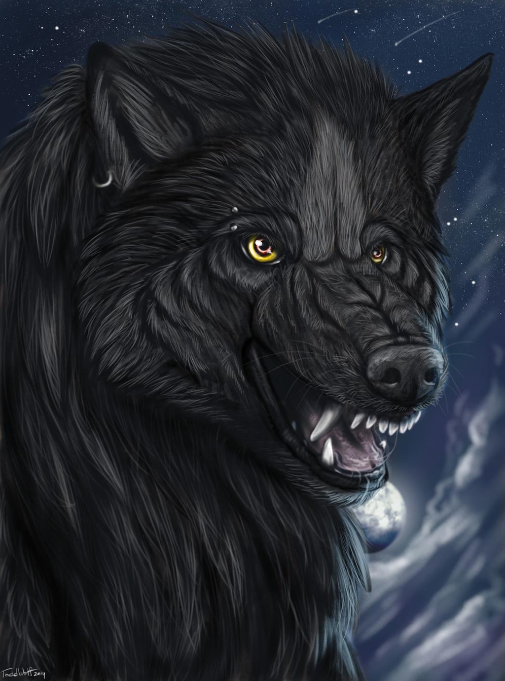 Lycanthrope Heart Portrait