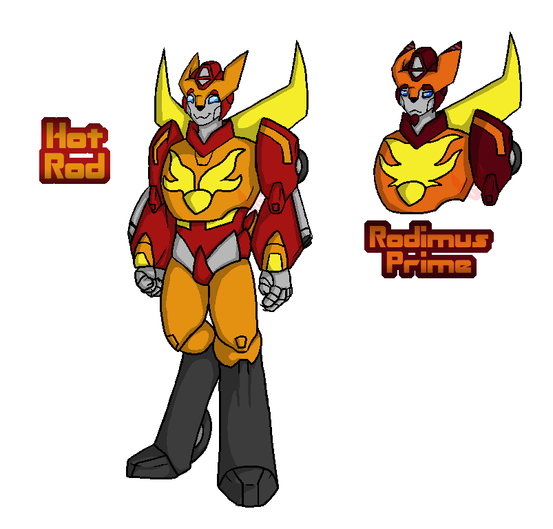 Hot Rod - Rodimus Prime