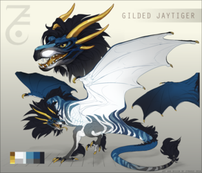 Wyvern Design GILDED JAYTIGER - [CLOSED]