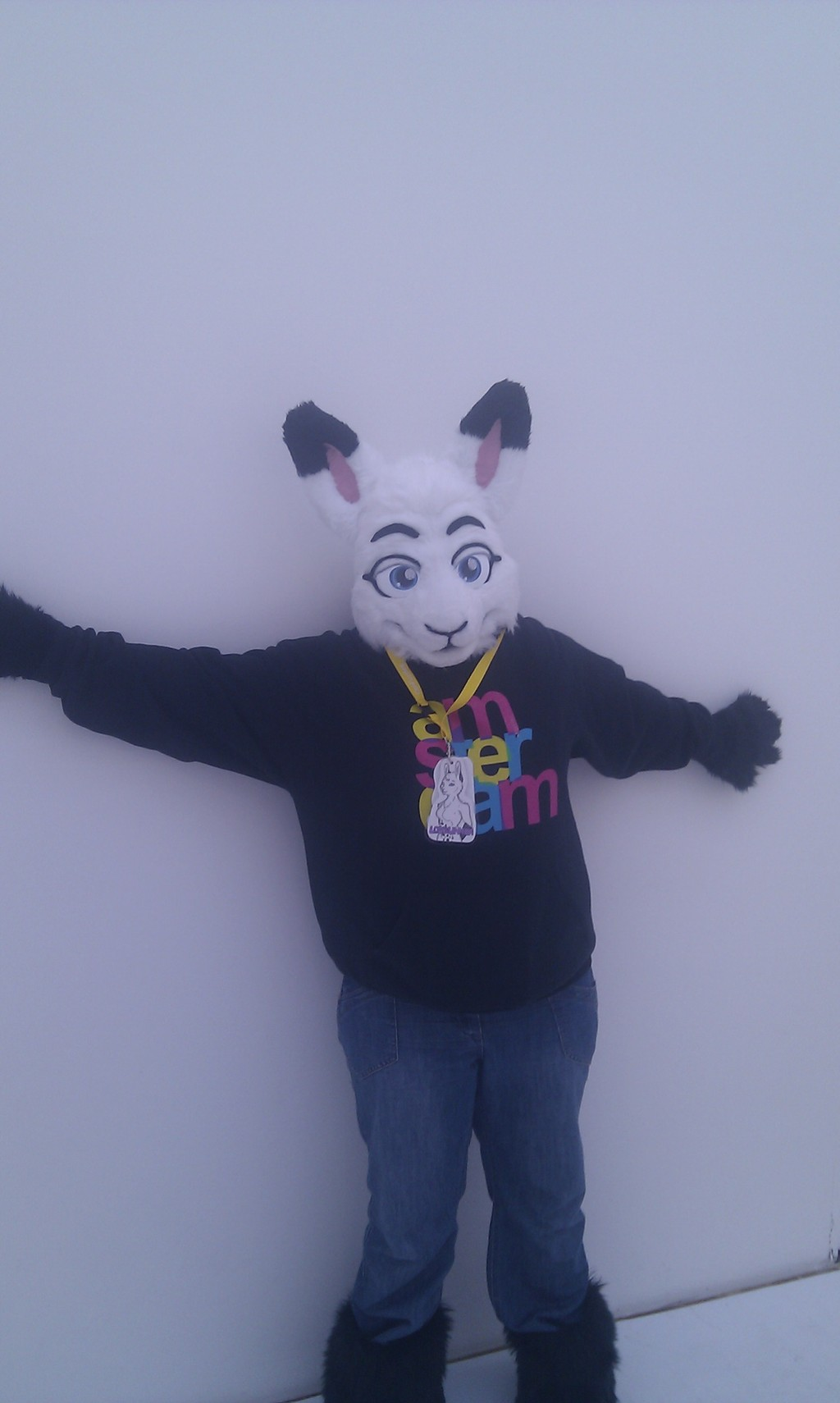 Most recent image: Bunneh on the wall