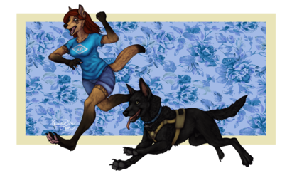 CO: Fawn and Banner