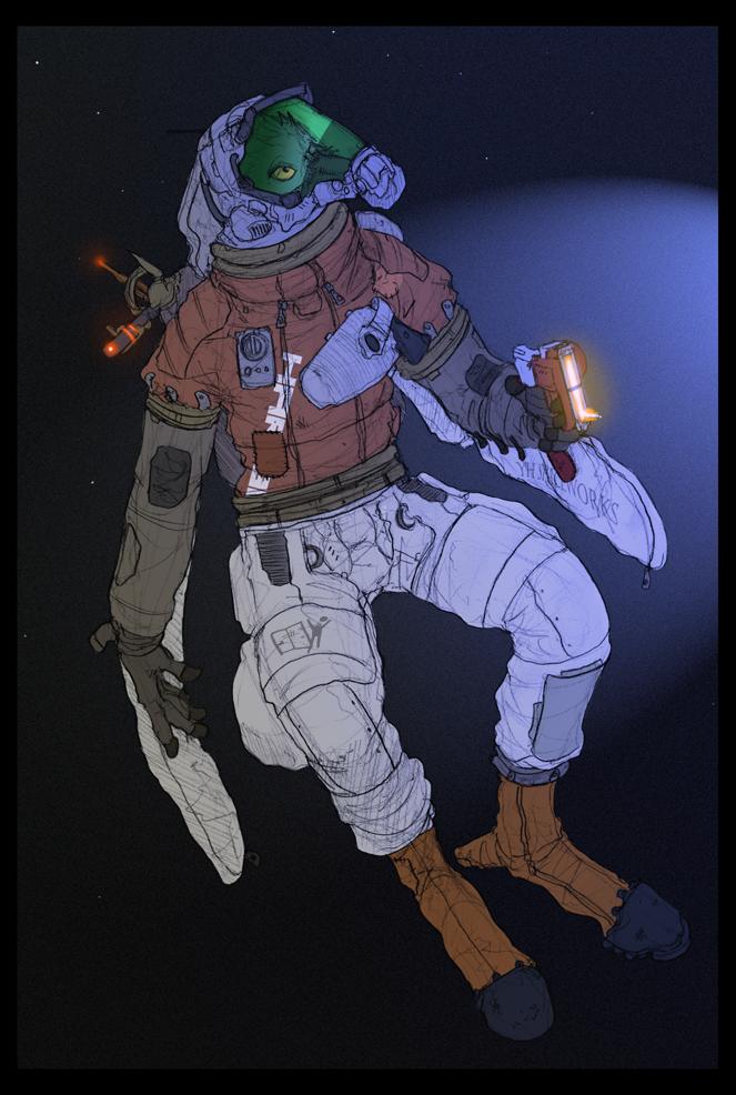 Most recent image: Space Pirate Rafni