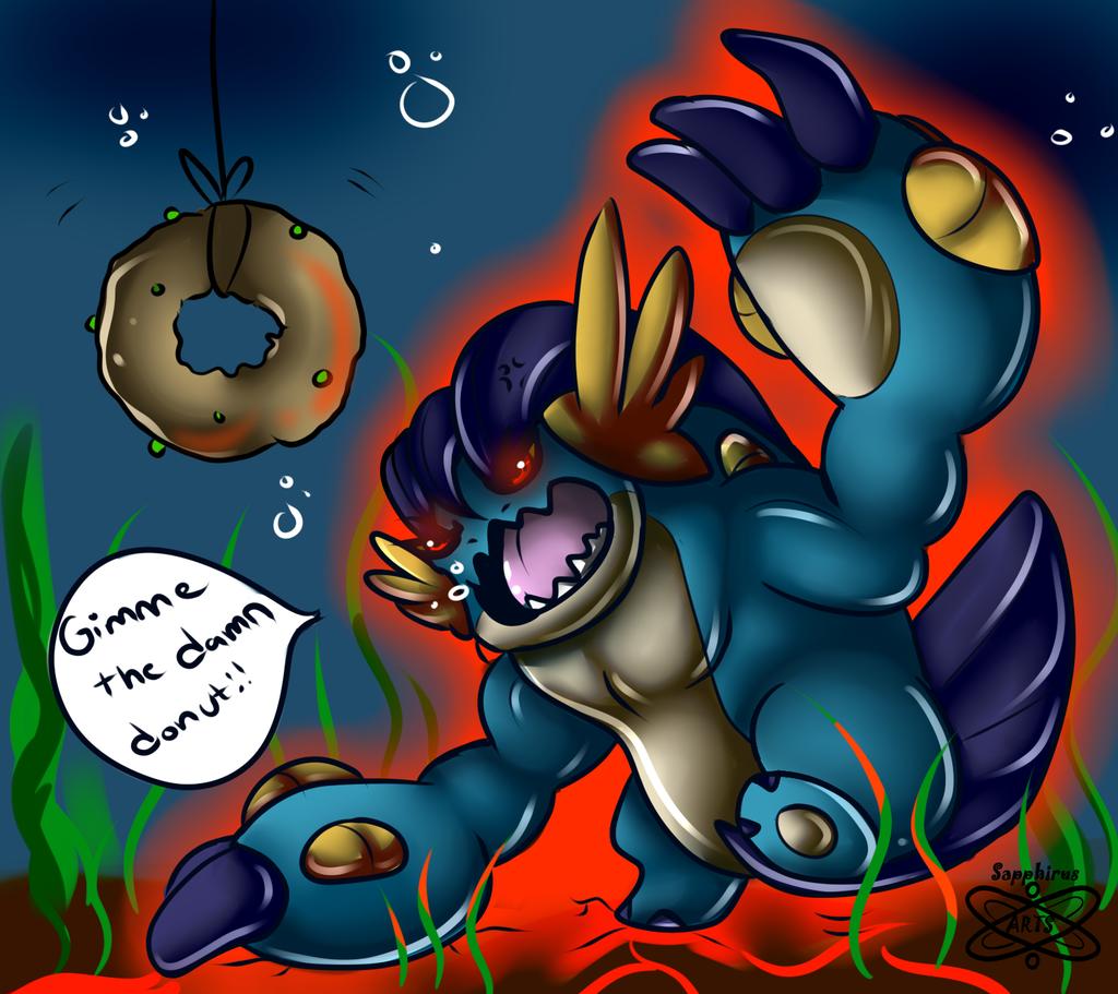 Swampy Wanna donut!