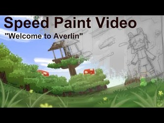 SpeedPaint Video: Welcome to Averlin