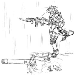 Zeravaen Zareth guard