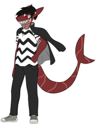 Commission- shark boy