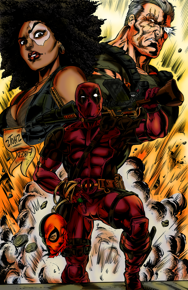 Most recent image: Deadpool 2