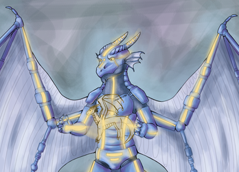 Introducing Robodragon (by Merrowsong)