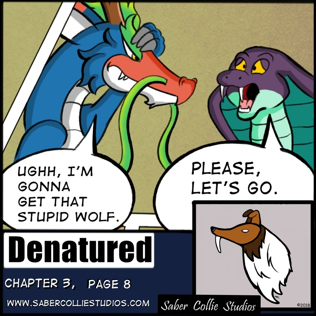 Denatured Chapter 3, Page 8