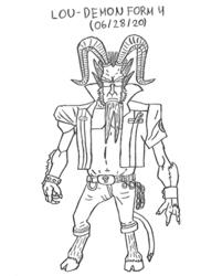 Lou - Demon Form 4