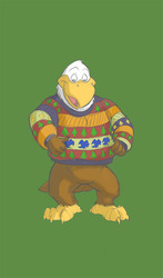 Mark likes his ugly christmas sweater