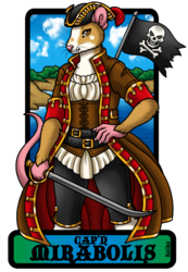Badge - Capn Mirabolis