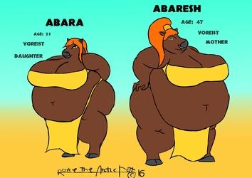 Abara and Abaresh (sfw)