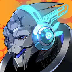 Turian Headphones (COMMISSION)