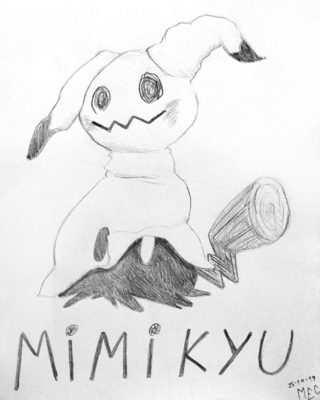 Mimikyu Sketch