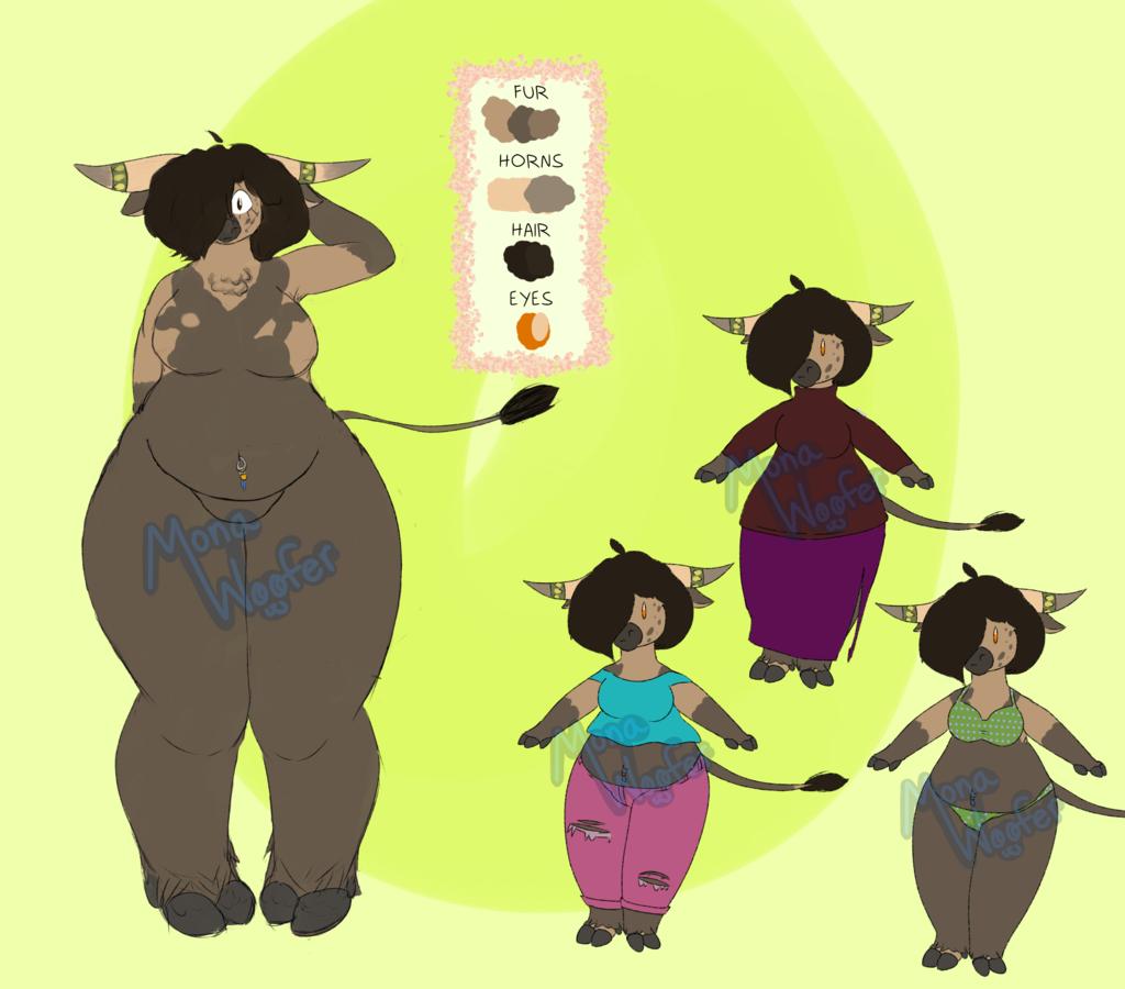 DESIGN FOR SALE -- Buffalo Girl