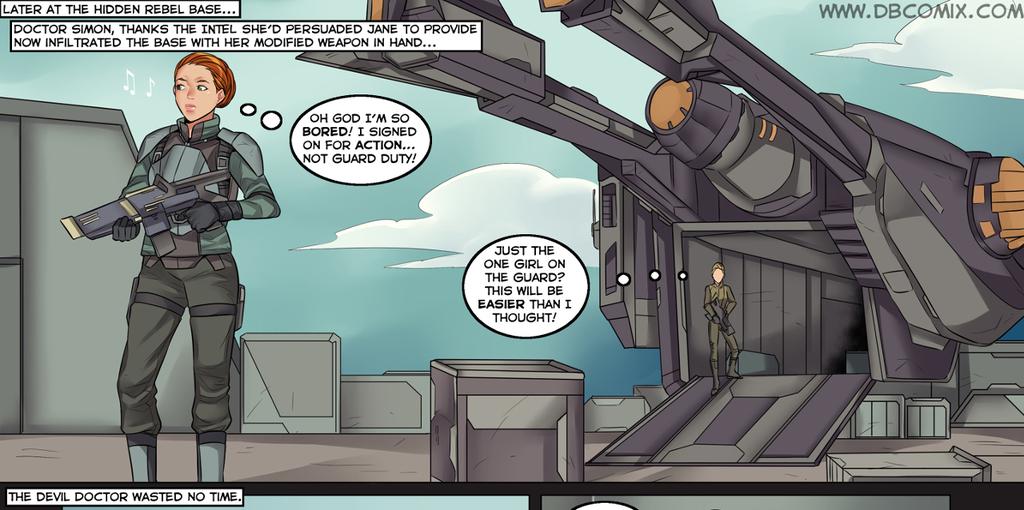 SEXCOM 2 Enemy Within Comic