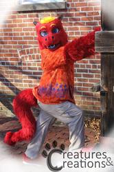 Steven Red Fur Dragon Partial