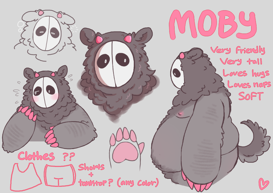 [OC] Moby (old ref)