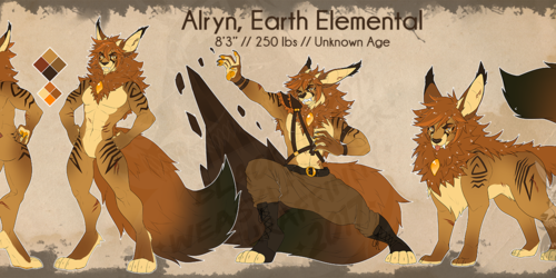 [C] - Alryn Reference Sheet