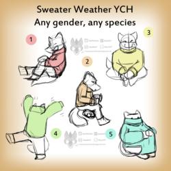 Sweater Weather Chibi YCH