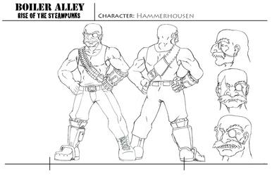 Character Sheet Hammerhousen