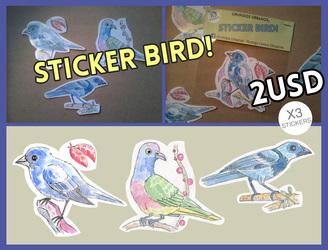 Sticker Bird!