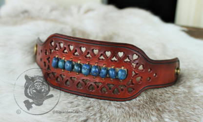 Lapis Lazuli Filigree Bracelet