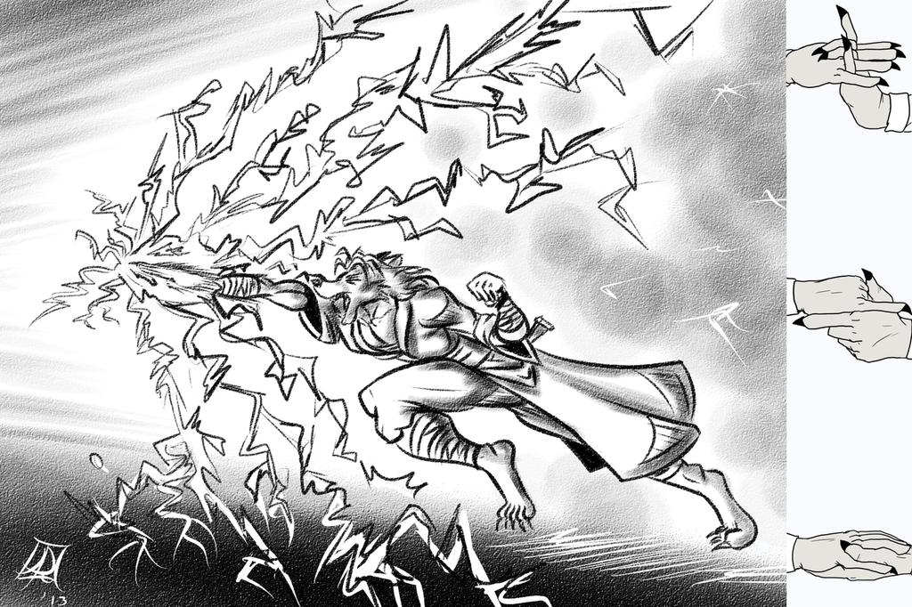 Rinji's Primary Jutsu: Chidori