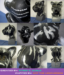 Painted Gas Mask: Neirin