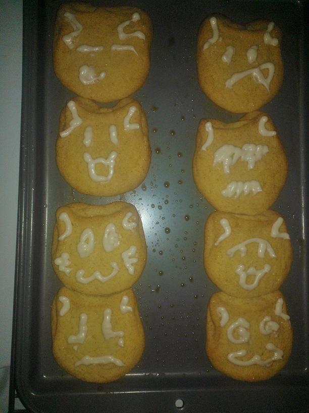 Cat Cookies Version 1