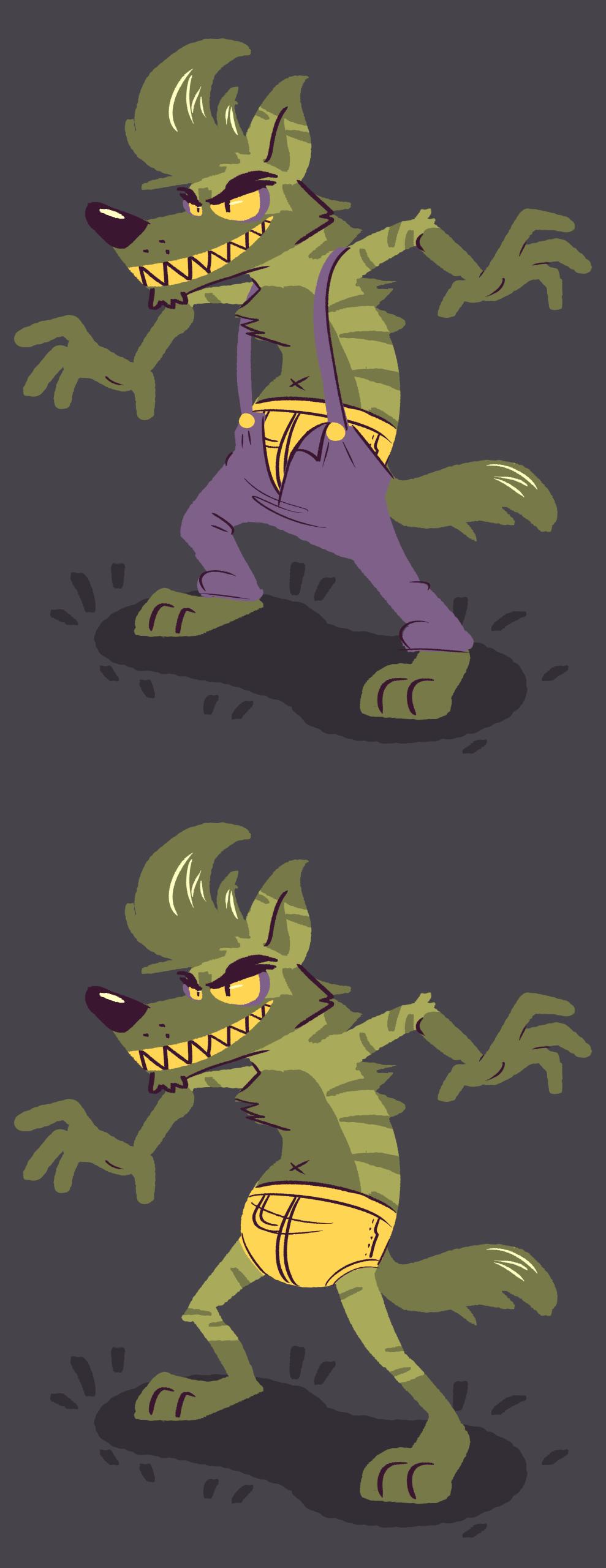 Mean green yeen