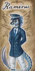 Ramirus Steampunk Conbadge