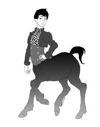 Draw a Centaur Day
