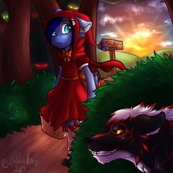 Little Red Riding Hood YCH ::Xeranii::