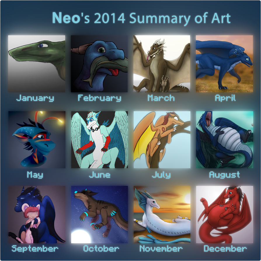 Most recent image: Neo's 2014 Summary of Art