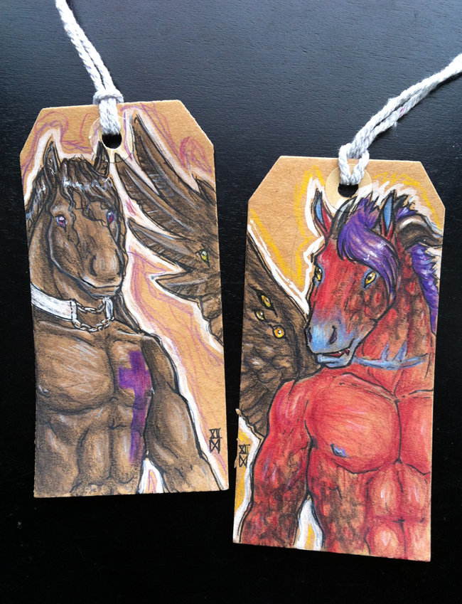 Featured image: Label Badges: Loki & Tybalt