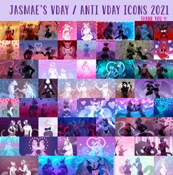 Vday/Anti Vday Icons 2021