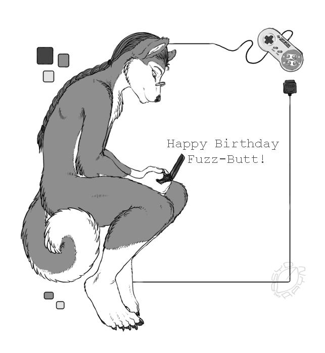 .Fuzzy's Birthday. by AcidaPluvia