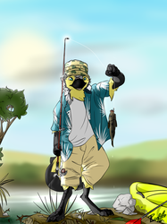 Fishy Birb