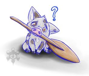 [Fan Art] Pua and the Paddle