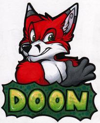 Doon Badge (GLFC 2015)