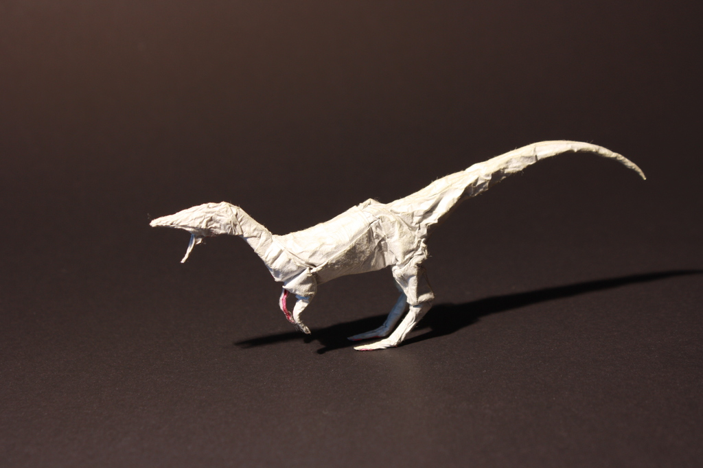 Most recent image: Origami Coelophysis