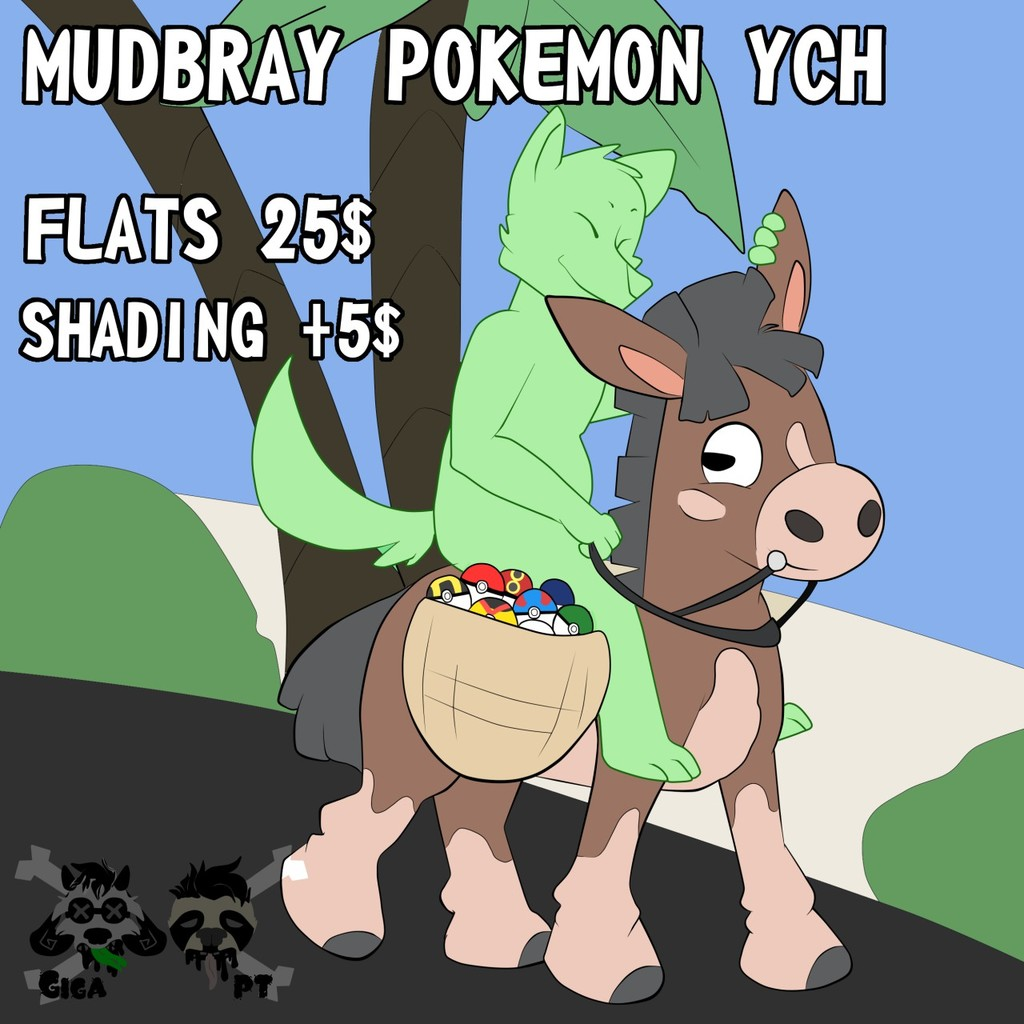 Pokemon Ych: Mudbray