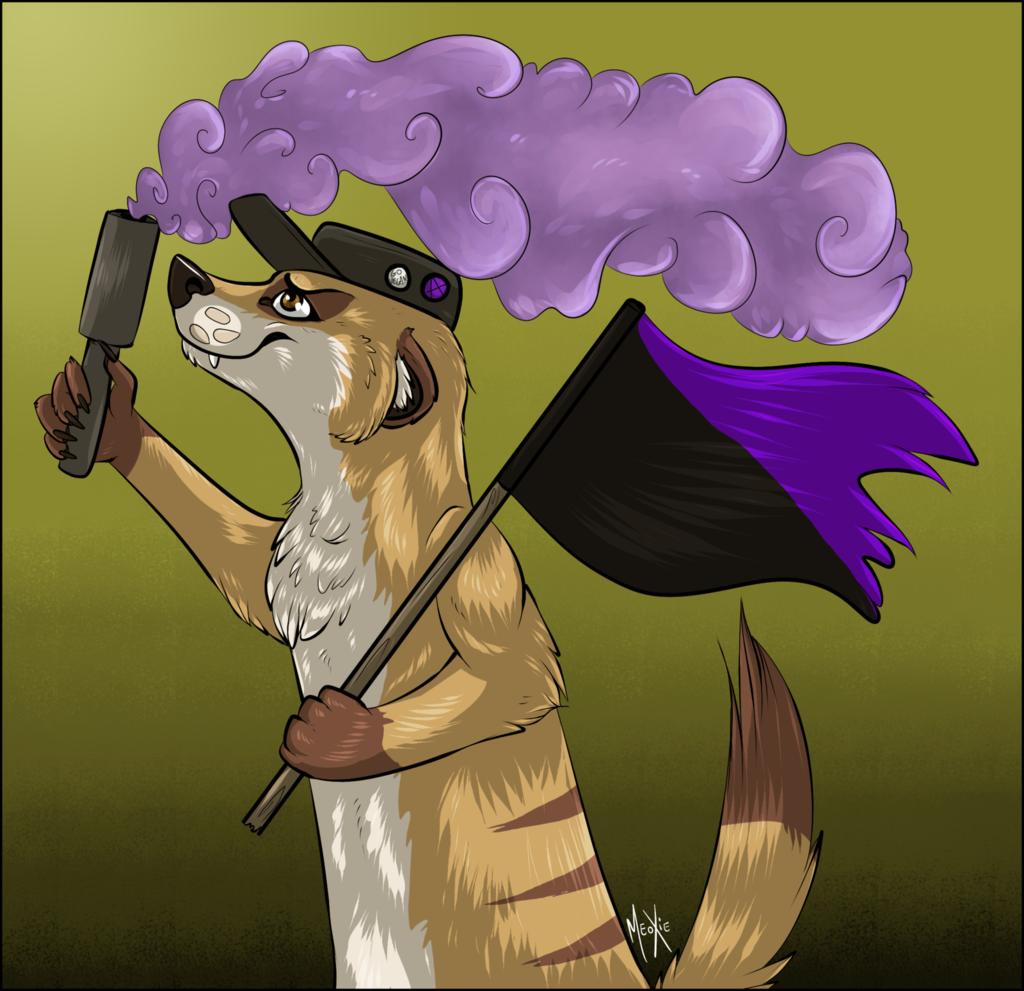 .: Anarcho-Feminist meerkat.