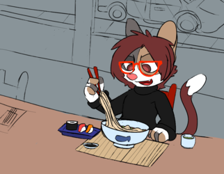 Mewdles' Noodles