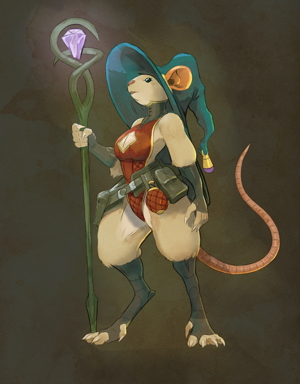 mighty mouse mage